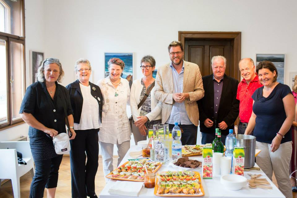 Wasted Food & Vernissage